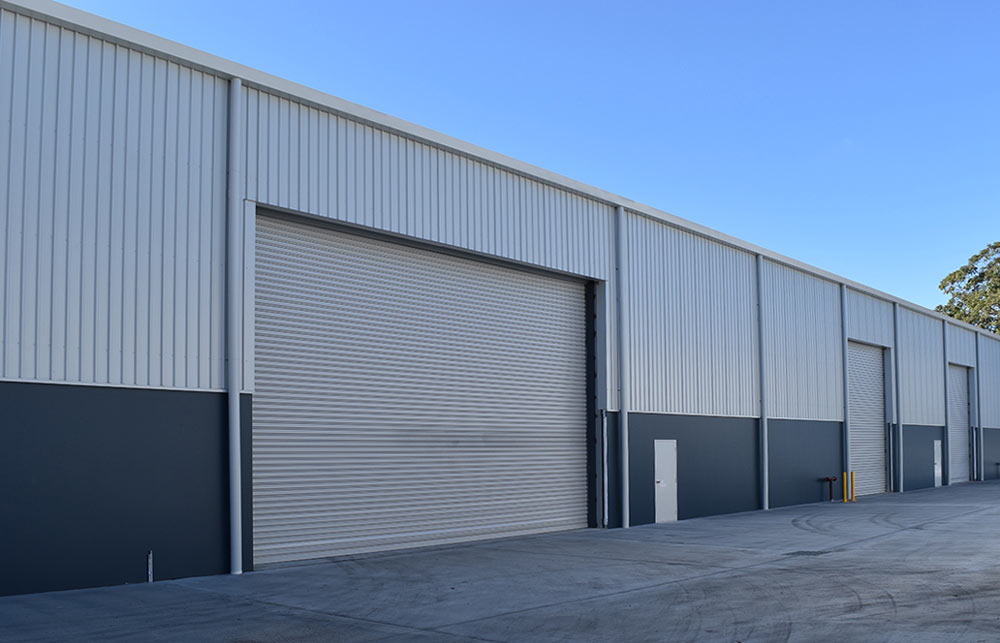 Индустриални ролетни врати